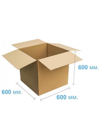 Коробка (600 х 600 х 600), бурая