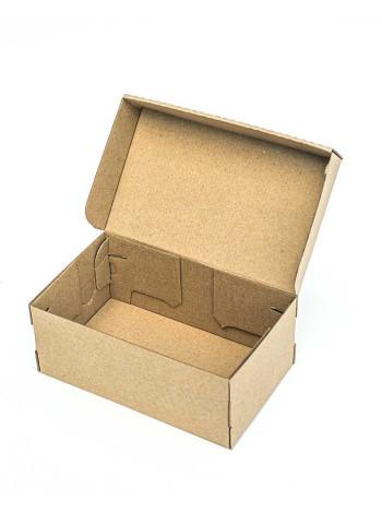 Коробка (205 х 125 х 85), для детской обуви, бурая