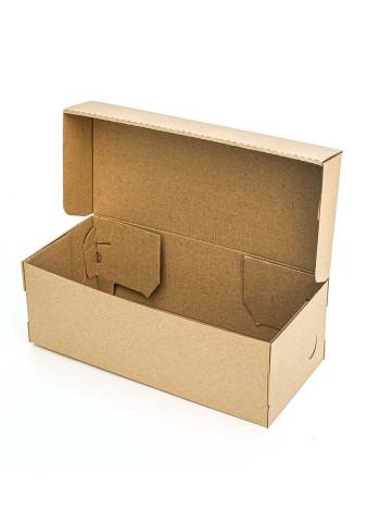 Коробка (320 х 140 х 110), для босоножек, бурая