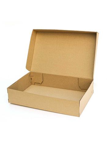 Коробка (500 х 320 х 110), для сапог, бурая