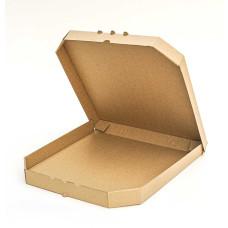 Коробка (350 х 350 х 37), для пиццы, бурая