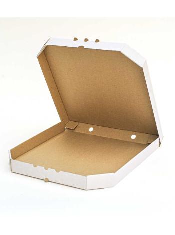 Коробка (350 х 350 х 37), для пиццы, белая