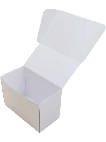 Коробка (160 x 85 x 110), белая, подарочная