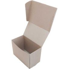Коробка (160 x 85 x 110), бурая, 2-х слойная, подарочная