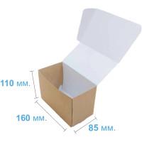 Коробка (160 x 85 x 110), крафт, подарочная