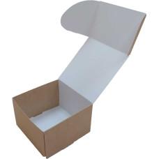 Коробка (090 x 90 x 60), крафт, подарочная