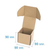 Коробка (090 х 90 х 90), бурая