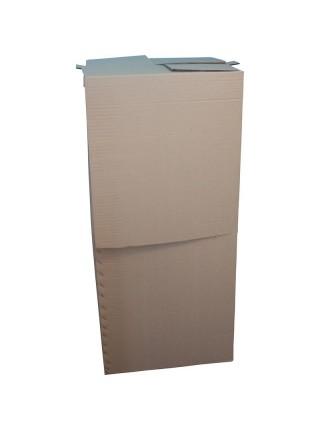 Коробка (610 х 570 х 1350), бурая,  гардеробная