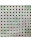 Гофробумага фламинго\зеленые квадраты (5 м. х 0,75м; 75гр./м2.)