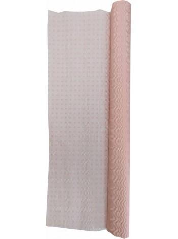 Гофробумага розовая / розовые квадраты (5 м. х 0,75м; 75гр./м2.)