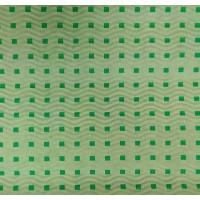 Гофробумага зеленая / зеленые квадраты (5 м. х 0,75м; 75гр./м2.)