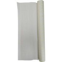 Гофробумага белая, зеленый горошек (5 м. х 0,75м; 75гр./м2.)