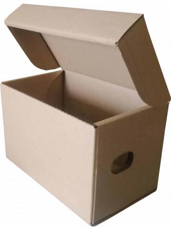 Коробка для продуктовых наборов (245 х 150 х 160), бурая