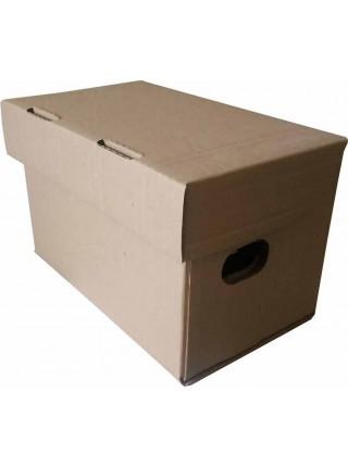 Коробка (245 х 150 х 160), для продуктовых наборов, бурая