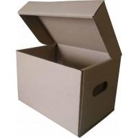Коробка (270 х 195 х 185), для продуктовых наборов, бурая