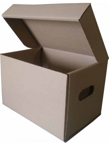 Коробка для продуктовых наборов (270 х 195 х 185), бурая