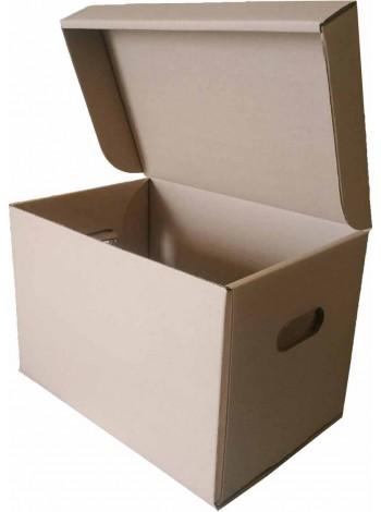 Коробка для продуктовых наборов (320 х 220 х 220), бурая