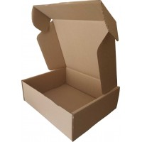 Коробка (415 х 365 х 140), бурая