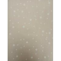 """Упаковочная бумага, крафт, """"Горошек"""" (10 м. х 1,05 м., 80 гр./м2)"""