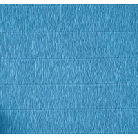Креповая бумага (креп), голубая, 50см х 2,5м