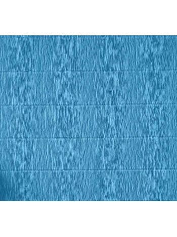 Бумага креп, голубая, 50см х 2,5м