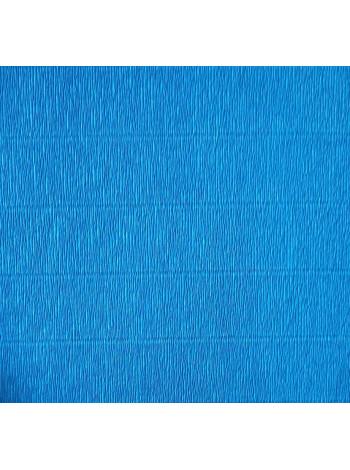 Бумага креп, синяя, 50см х 2,5м