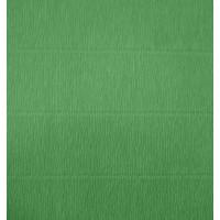 Креповая бумага (креп), зеленая, 50см х 2,5м