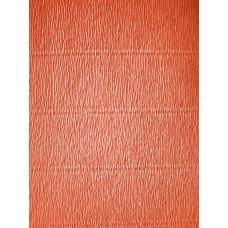 Креповая бумага (креп), оранжевая, 50см х 2,5м