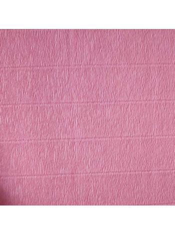 Бумага креп, розовая, 50см х 2,5м