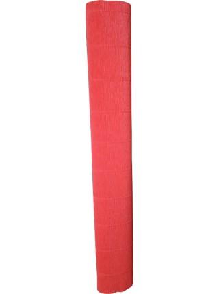 Креповая бумага (креп), красная, 50см х 2,5м