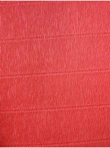 Бумага креп, красная, 50см х 2,5м