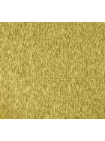 Бумага креп, желтая, 50см х 2,5м