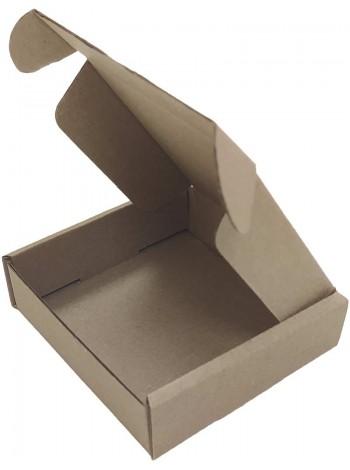 Коробка (090 x 90 x 25), бурая