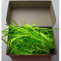 Бумажный наполнитель, зеленый, 25 гр.