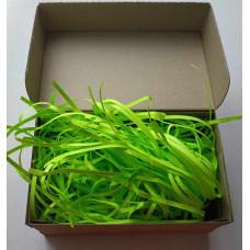 Бумажный наполнитель, зеленый, 100 гр.