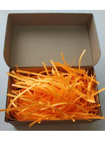 Бумажный наполнитель, оранжевый, 100 гр.