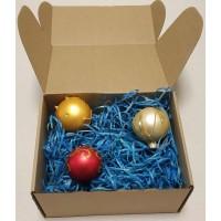 Древесная стружка цветная, синий, 50 гр.