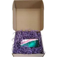 Древесная стружка цветная, фиолетовый, 50 гр.