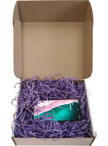 Наполнитель для коробок из фиолетовой стружки древесной