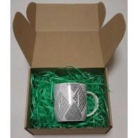 Древесная стружка цветная, зеленый, 50 гр.