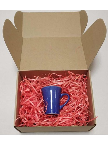 Наполнитель для коробок из розовой стружки древесной