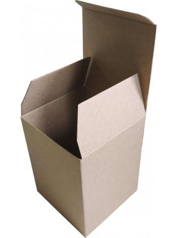 Коробка (100 x 100 x 130), бурая