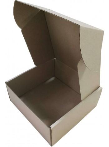 Коробка (160 x 160 x 70), бурая