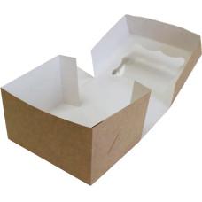 Коробка (150 x 120 x 90), крафт, подарочная
