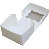 Коробка (150 x 120 x 90), белая, подарочная