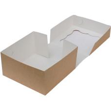 Коробка (170 x 170 x 90), крафт, подарочная