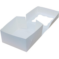Коробка (170 x 170 x 90), белая, подарочная