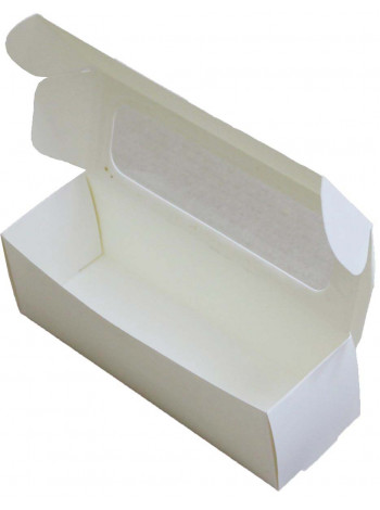 Коробка (170 x 55 x 55), белая, подарочная