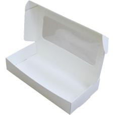 Коробка (220 x 110 x 40), белая, подарочная