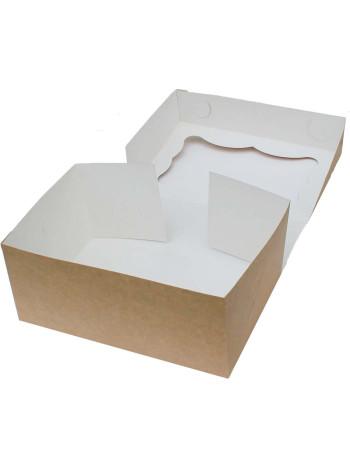 Коробка (250 x 170 x 110), крафт, подарочная